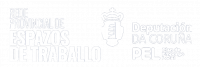 Logo Rede Provincial de Espazos - PEL